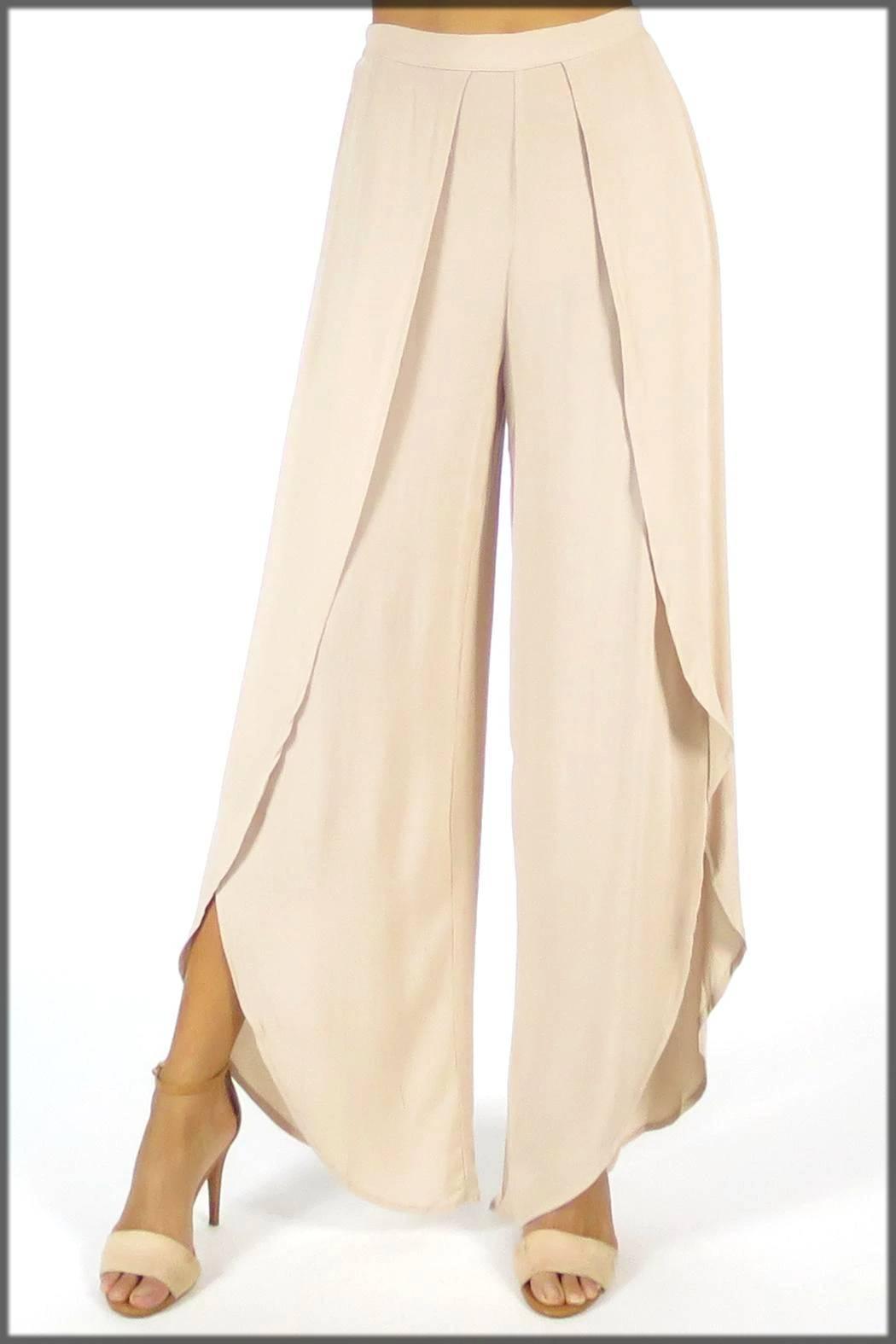 stylish and comfortable tulip pants