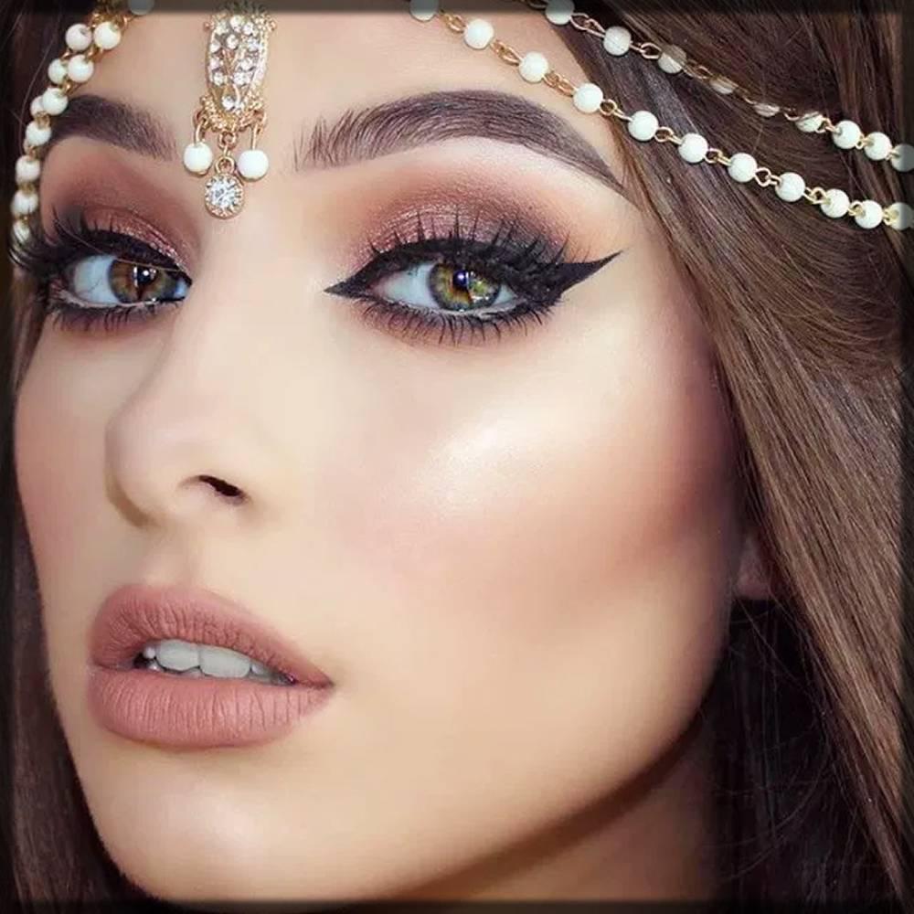 stylish arabic makeup