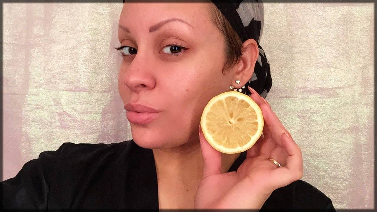 use lemon - skin whitening tip