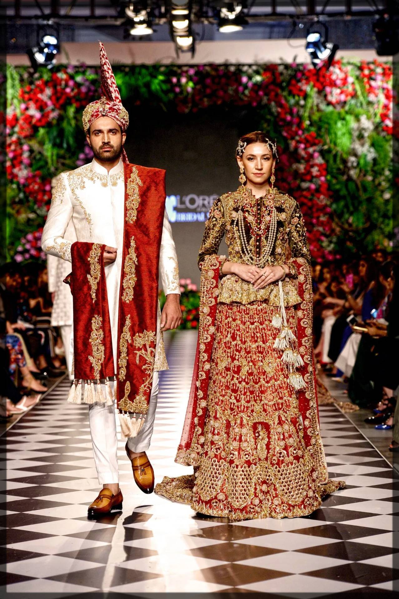 versatile and traditional bridal dress - tales of mughals