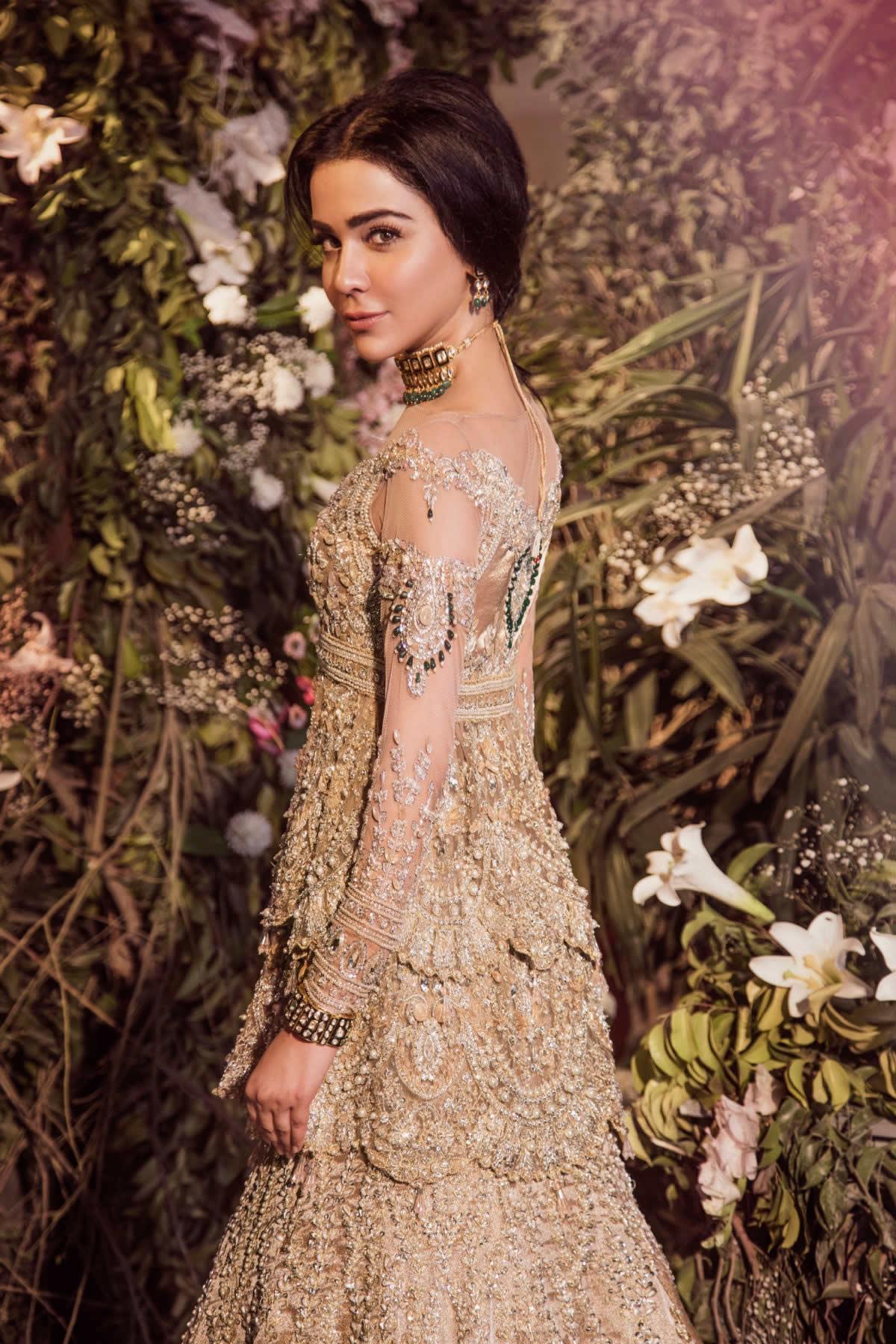 vintage modern Saira Rizwan Bridal Collection
