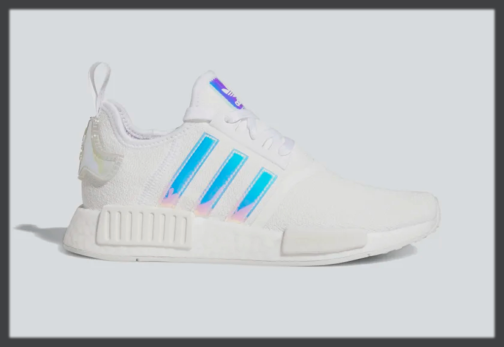 white Adidas winter shoes