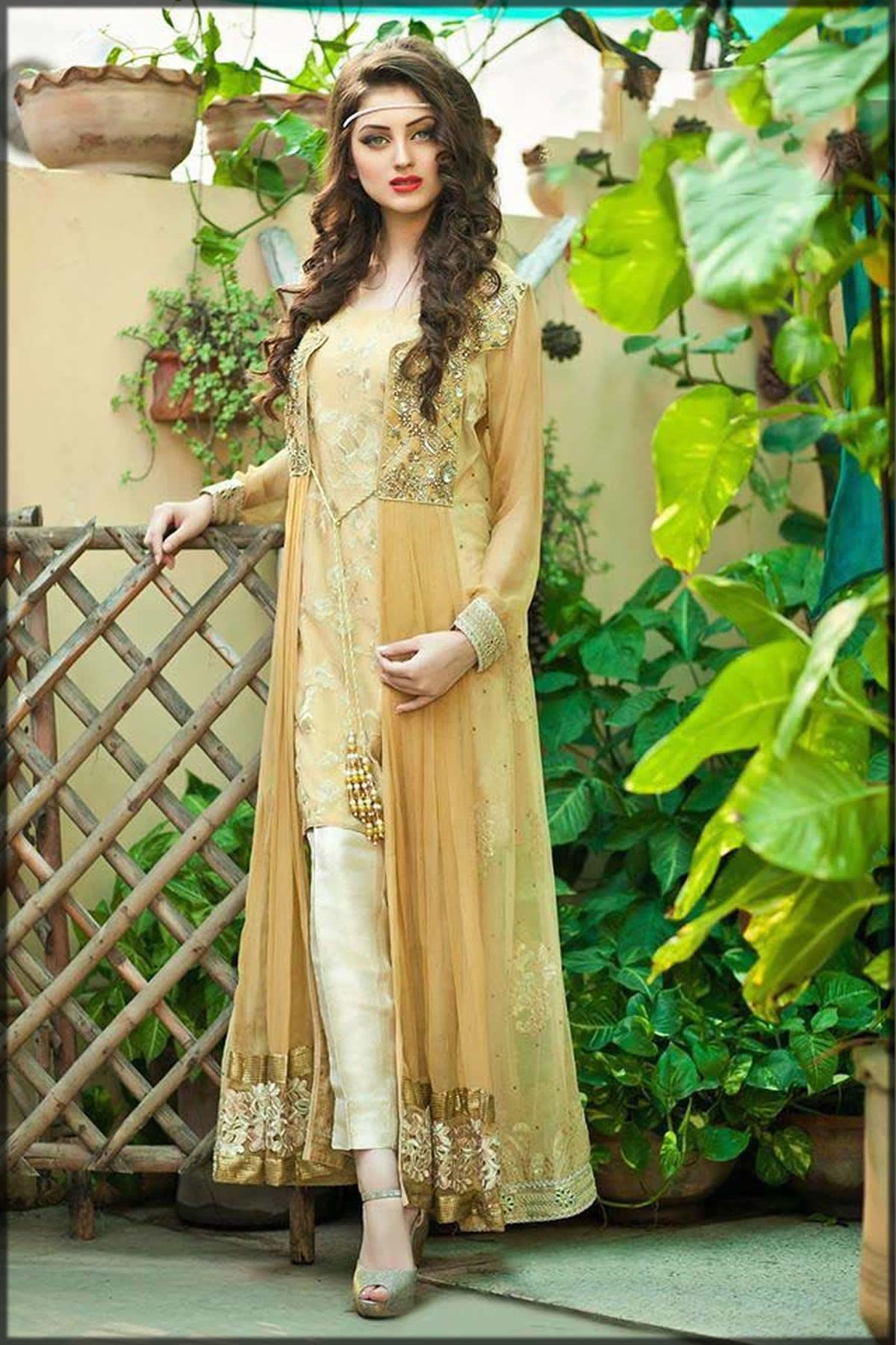 yellow fancy gown