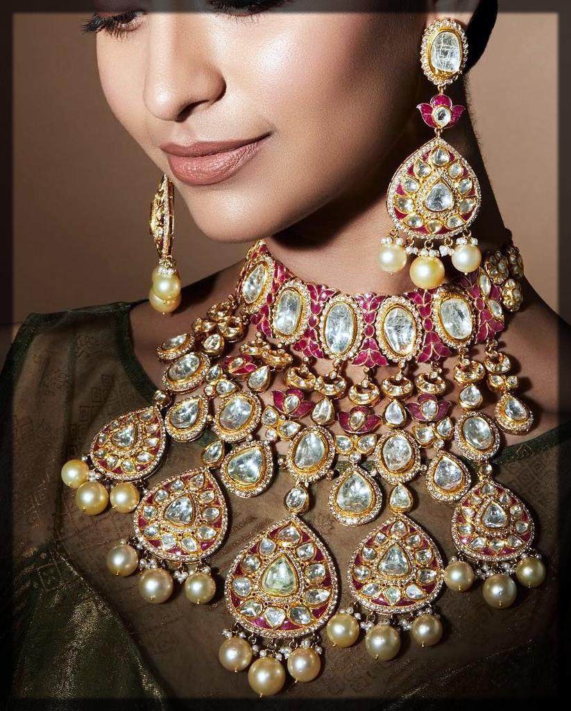 Bib Design bridal necklace