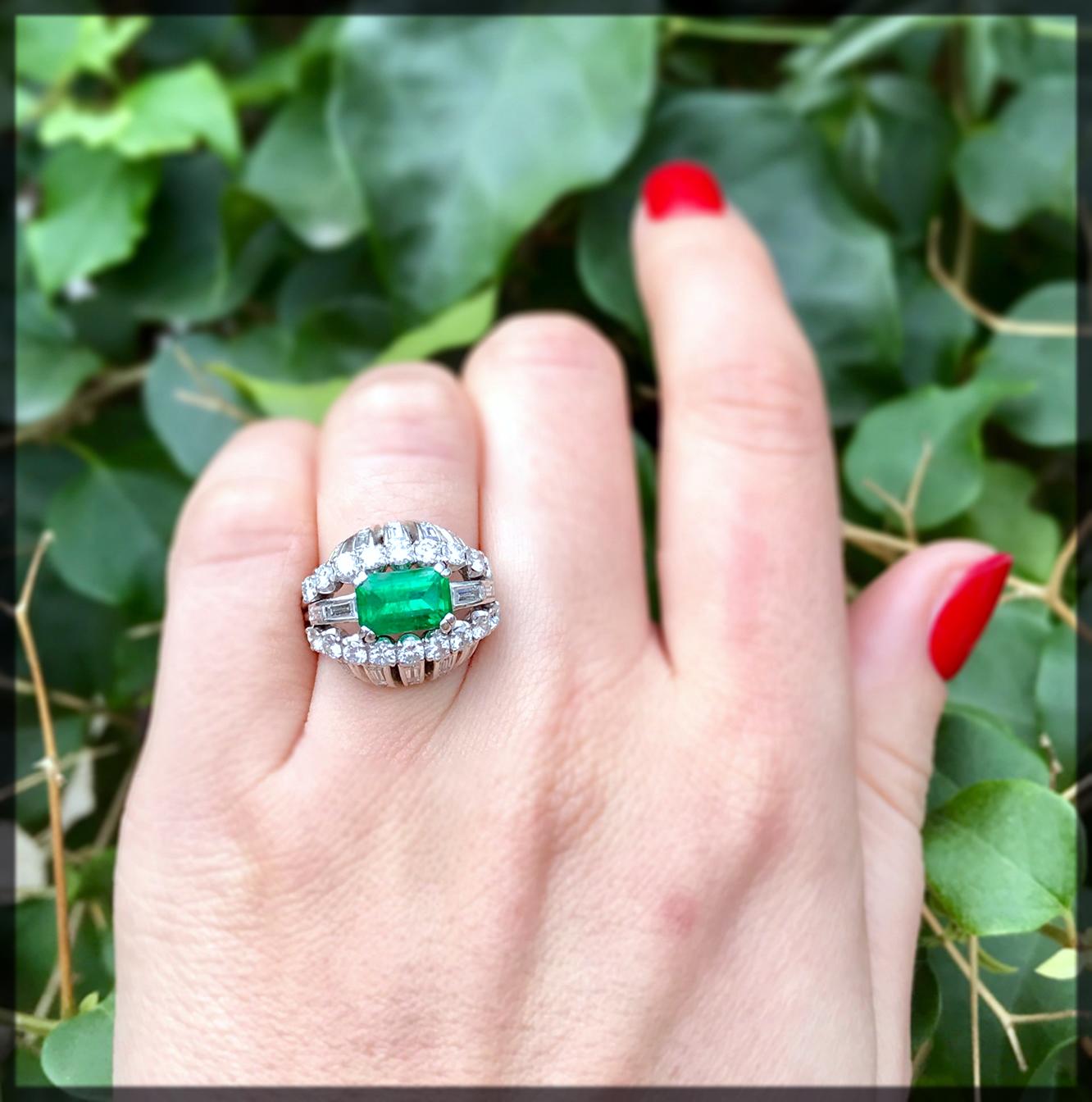 Bombe Engagement Ring for women
