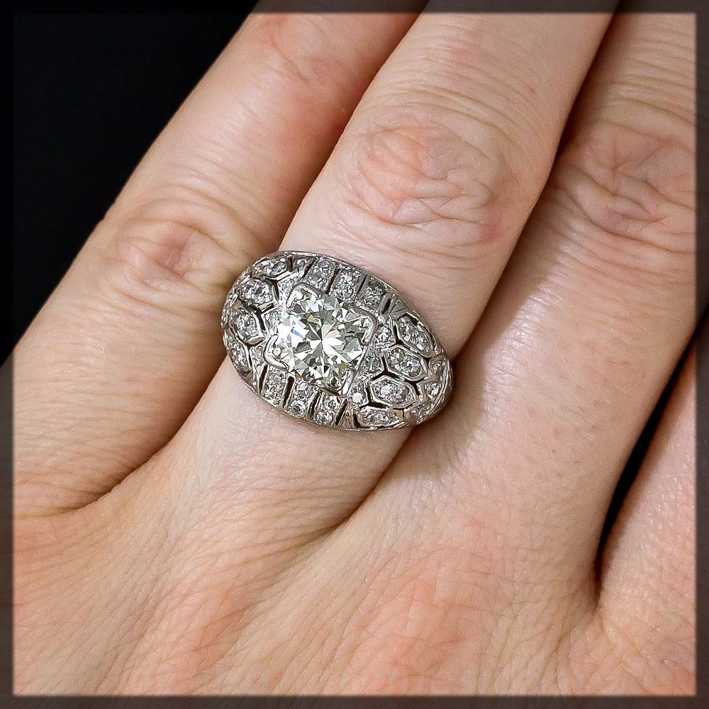 Bombe Engagement Ring
