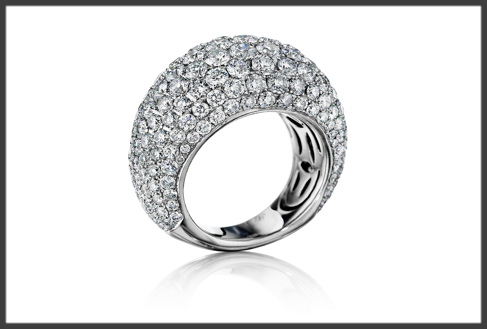 Bombe Wedding Ring For Women