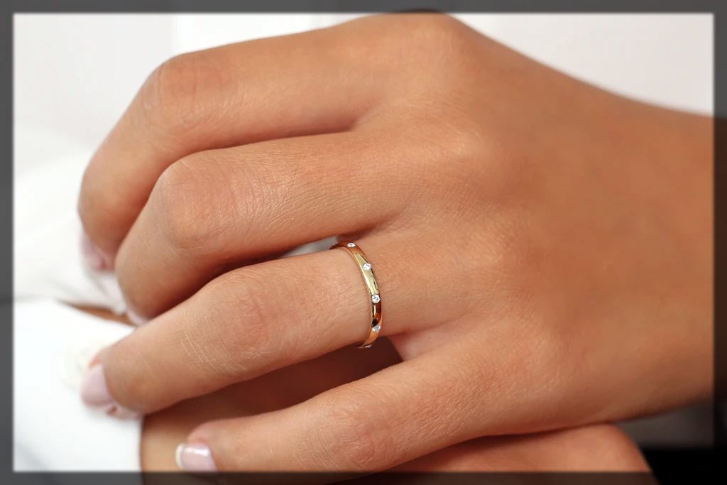 Burnish Wedding Ring