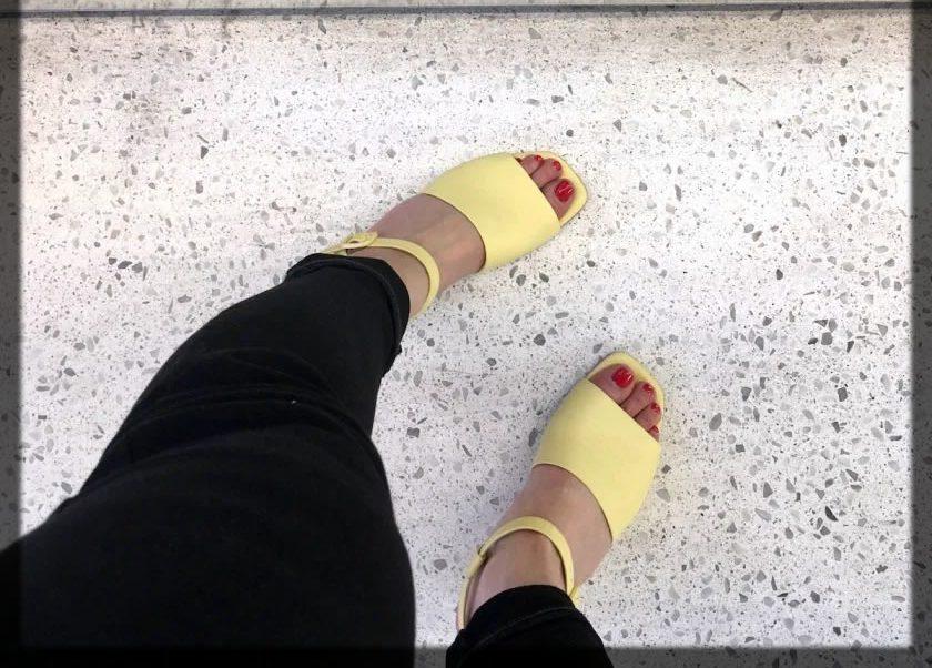 Classy Everlane Block Heel Sandal