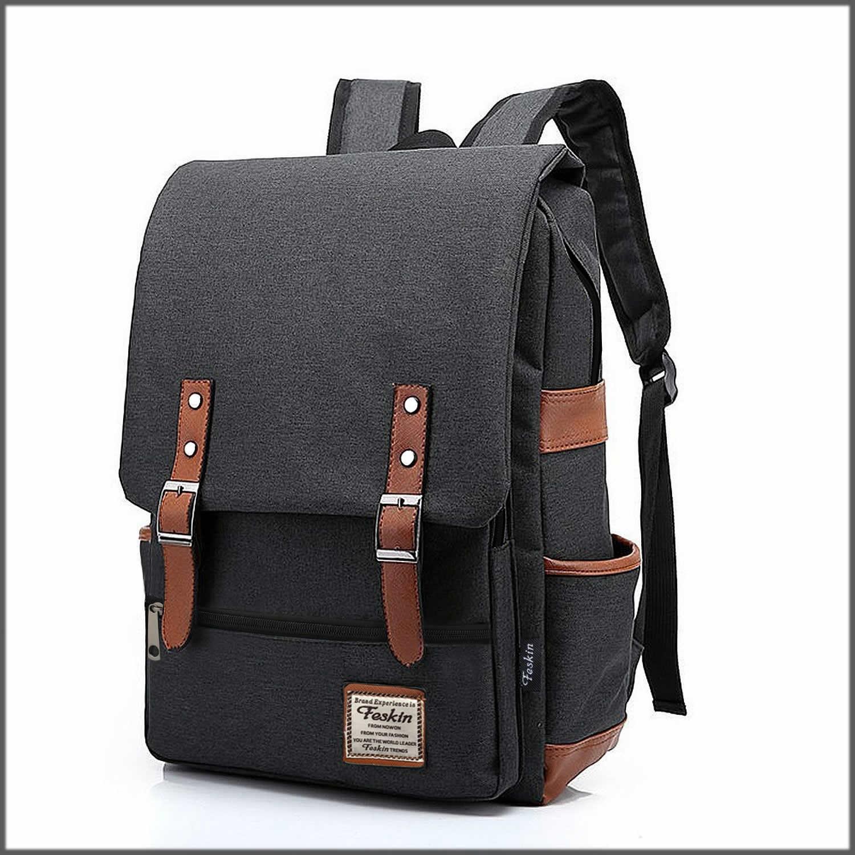 Decent black laptop bag
