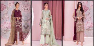 Designer Chiffon Suits Collection 2021 | Top Pakistani Chiffon Dresses
