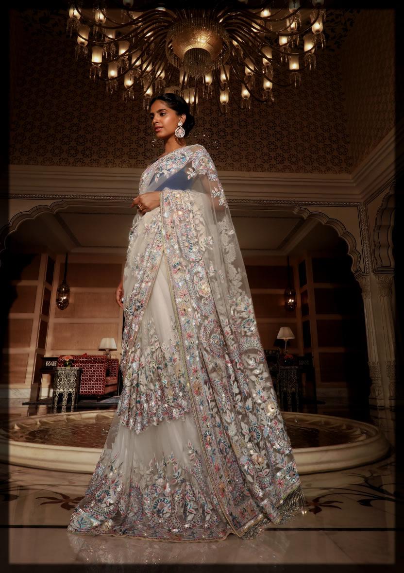 Indian Bridal Saree for Reception