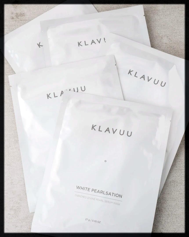 KLAVUU White Pearlsation Sheet Masks