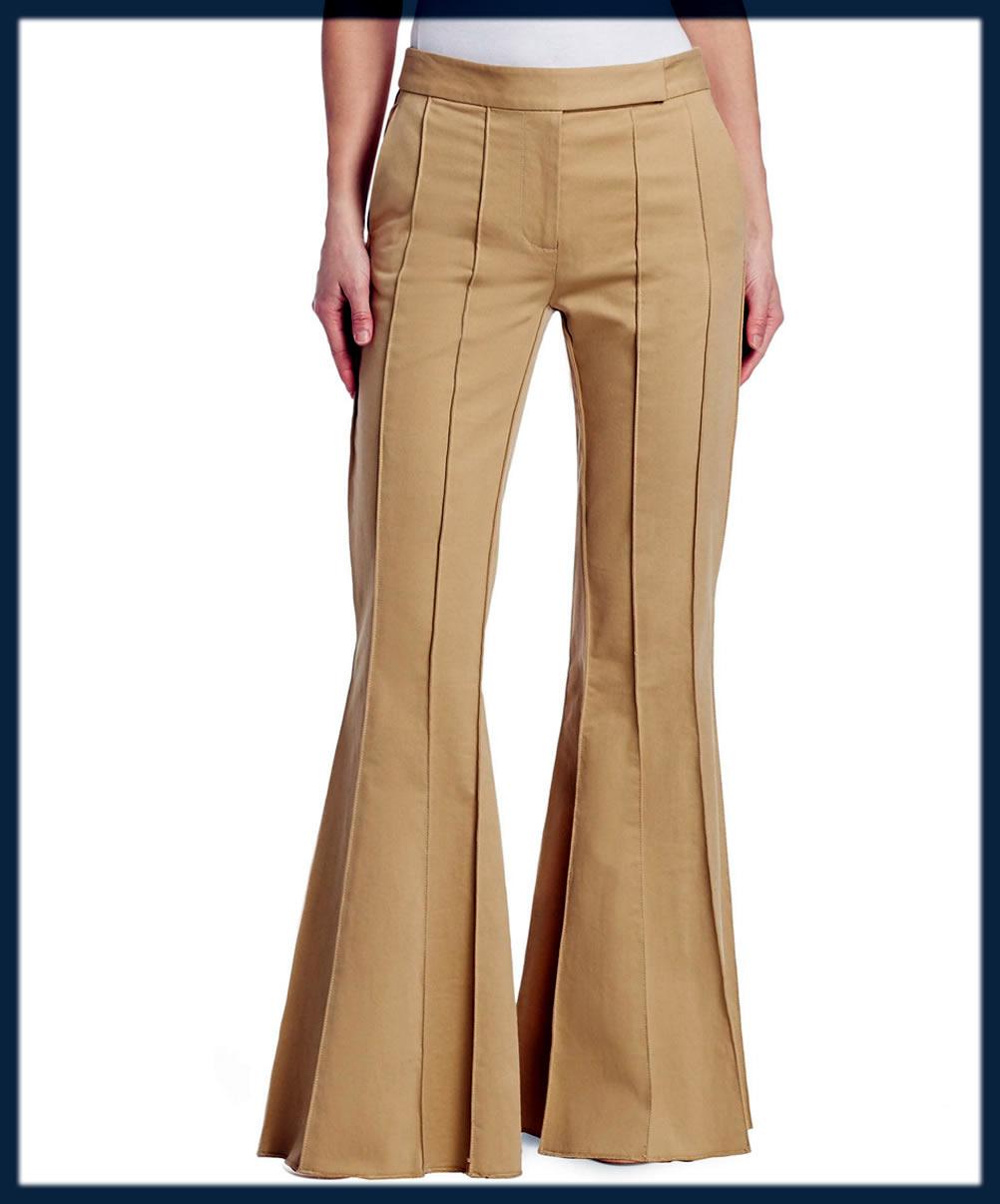Khaki Flare Pant