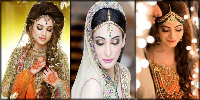 Latest bridal matha patthi designs