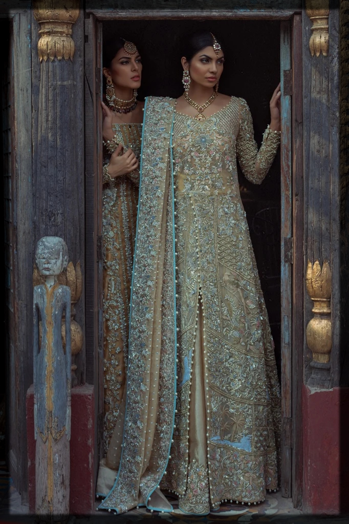 Latest and chic Saira Shakira Bridal Collection