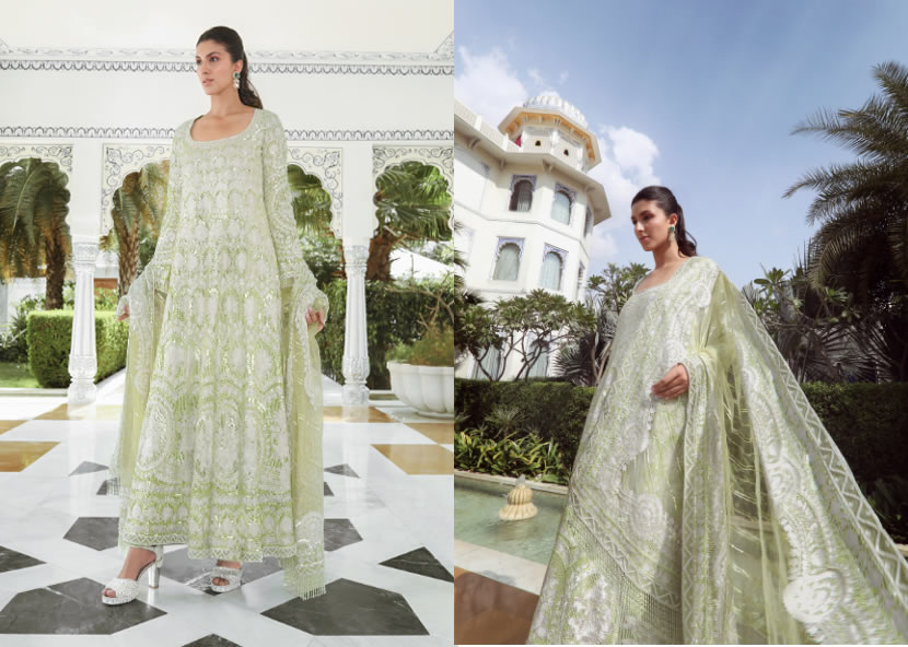Manish Malhotra Bridal Reception Collection