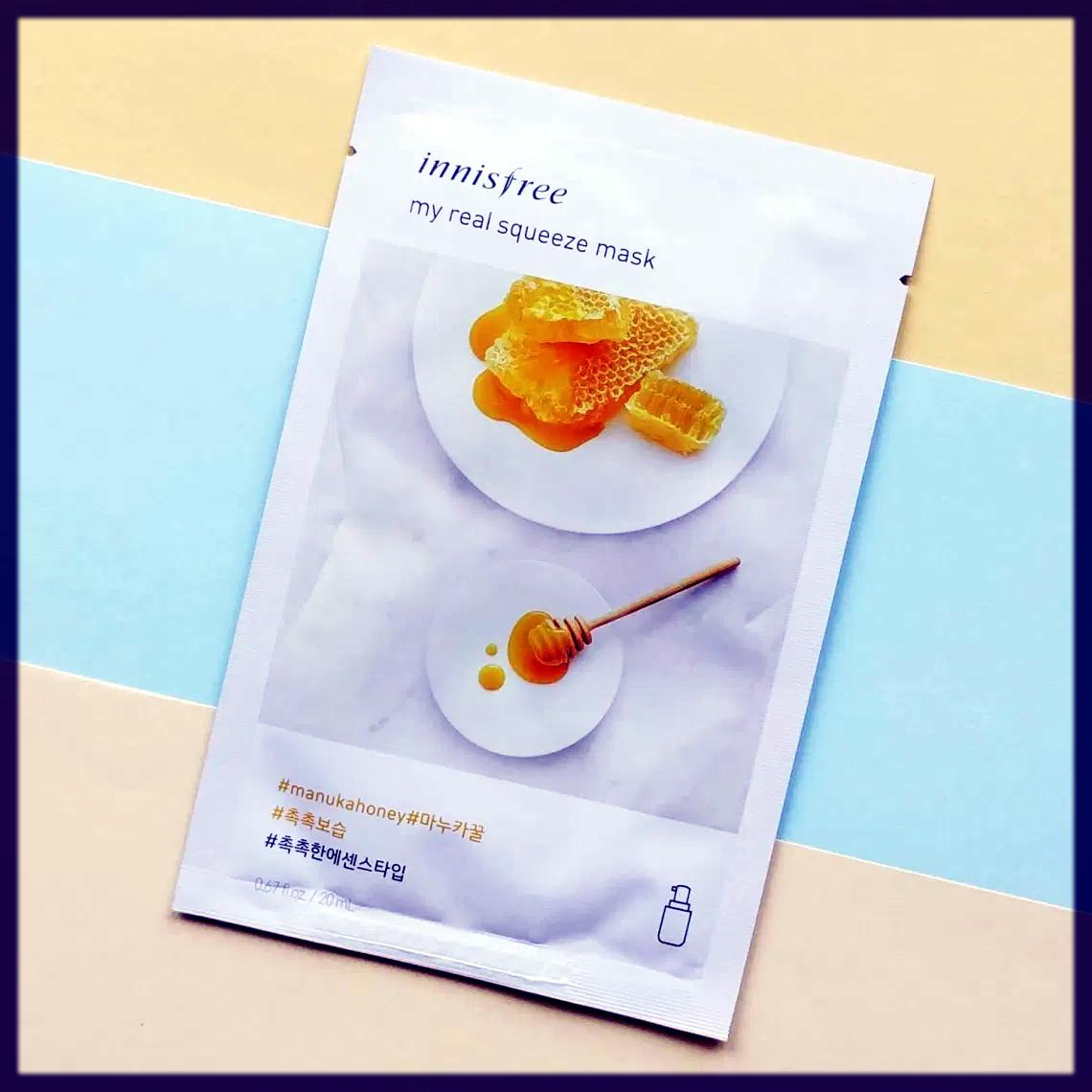 Manuka Honey mask sheet