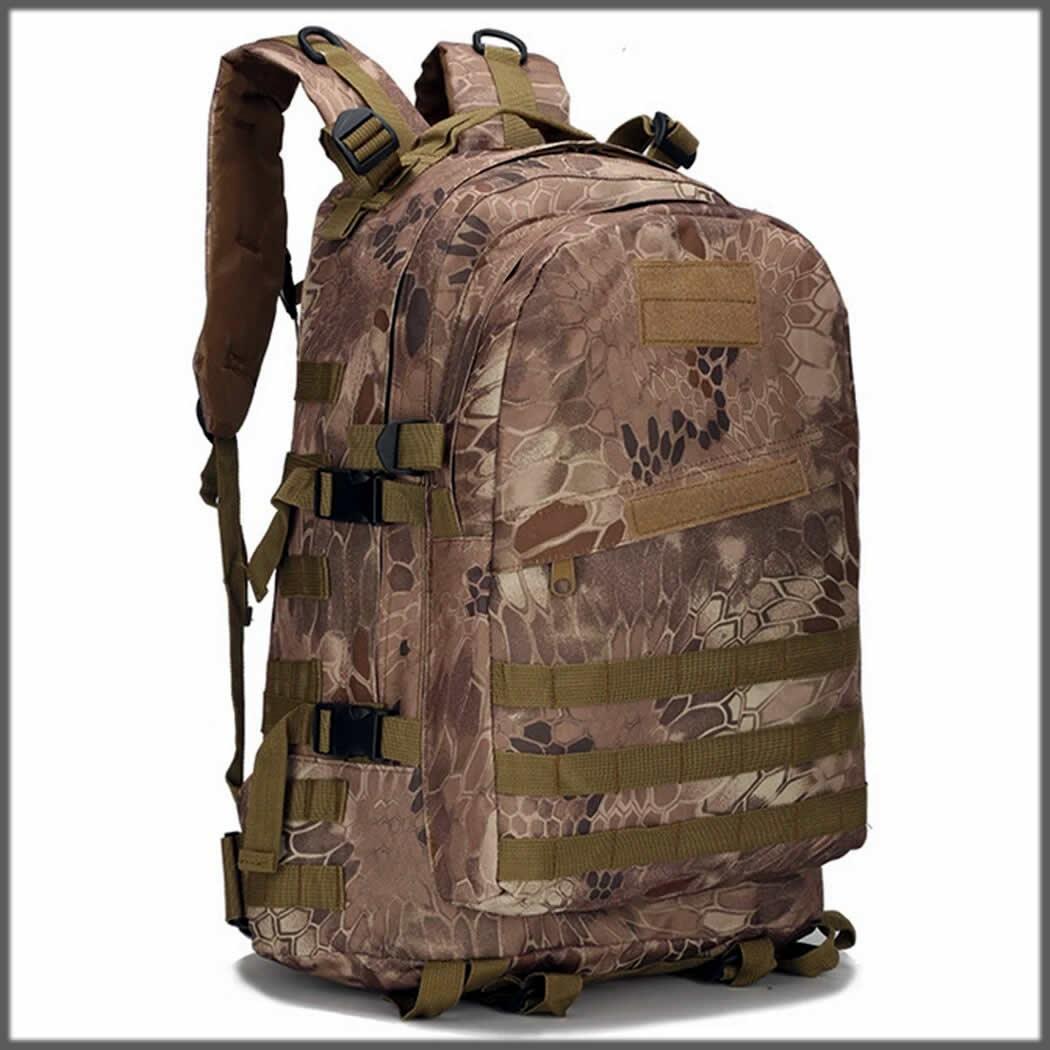Printed travel bag for men