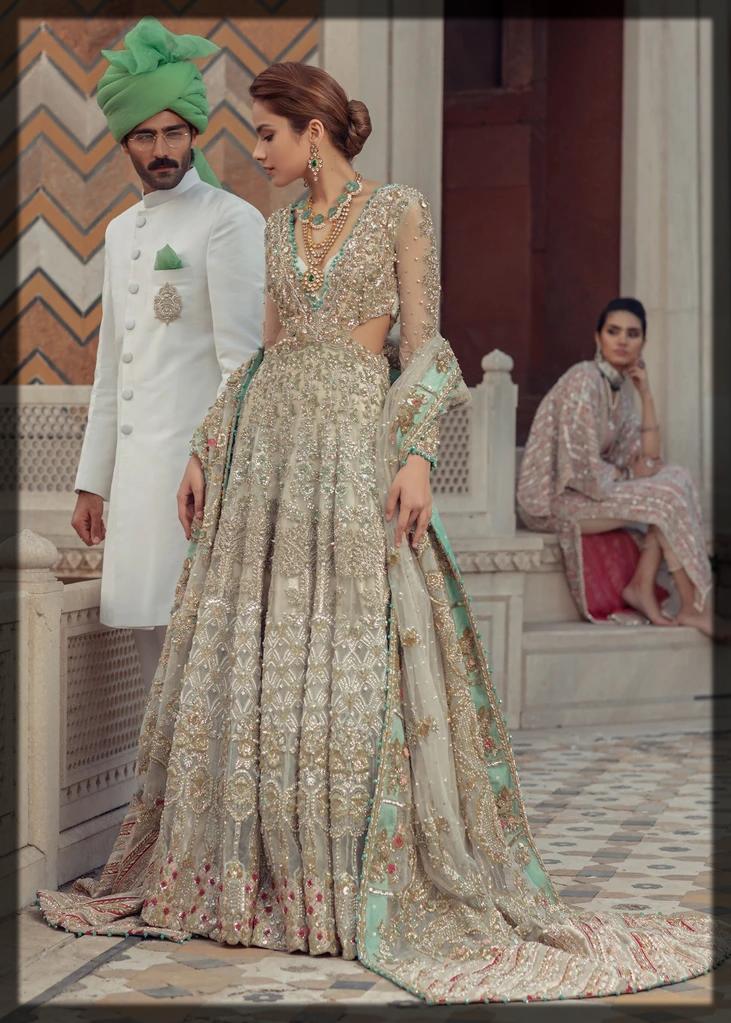 Saira Shakira Bridal Dresses for Nikkah