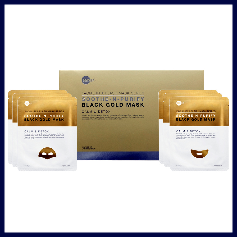 Soothe-N-Purify Black Gold Mask