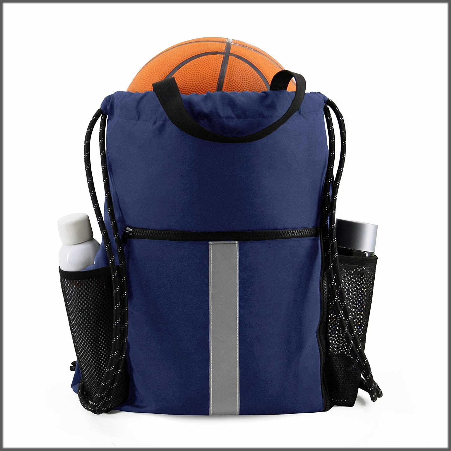 Two water bottle backpack