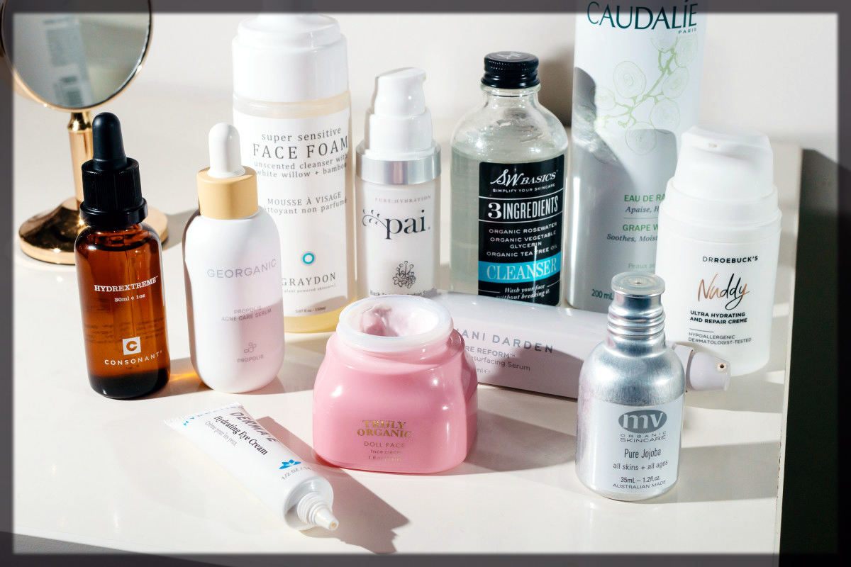Using Skin Products