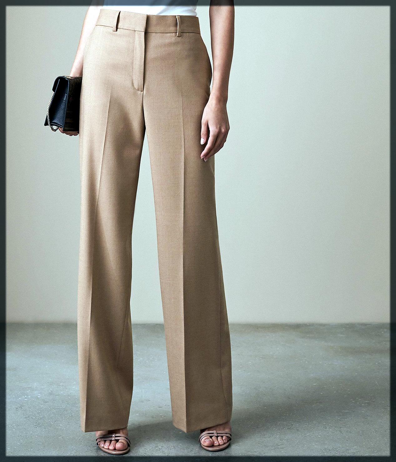 Wide Legged Trouser