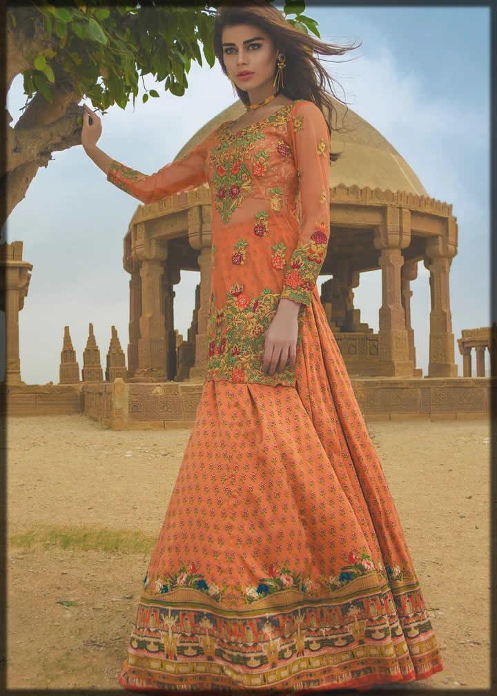alluring pink chiffon dress