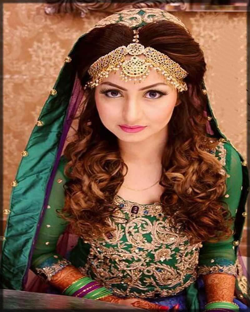 amazing bridal matha patti