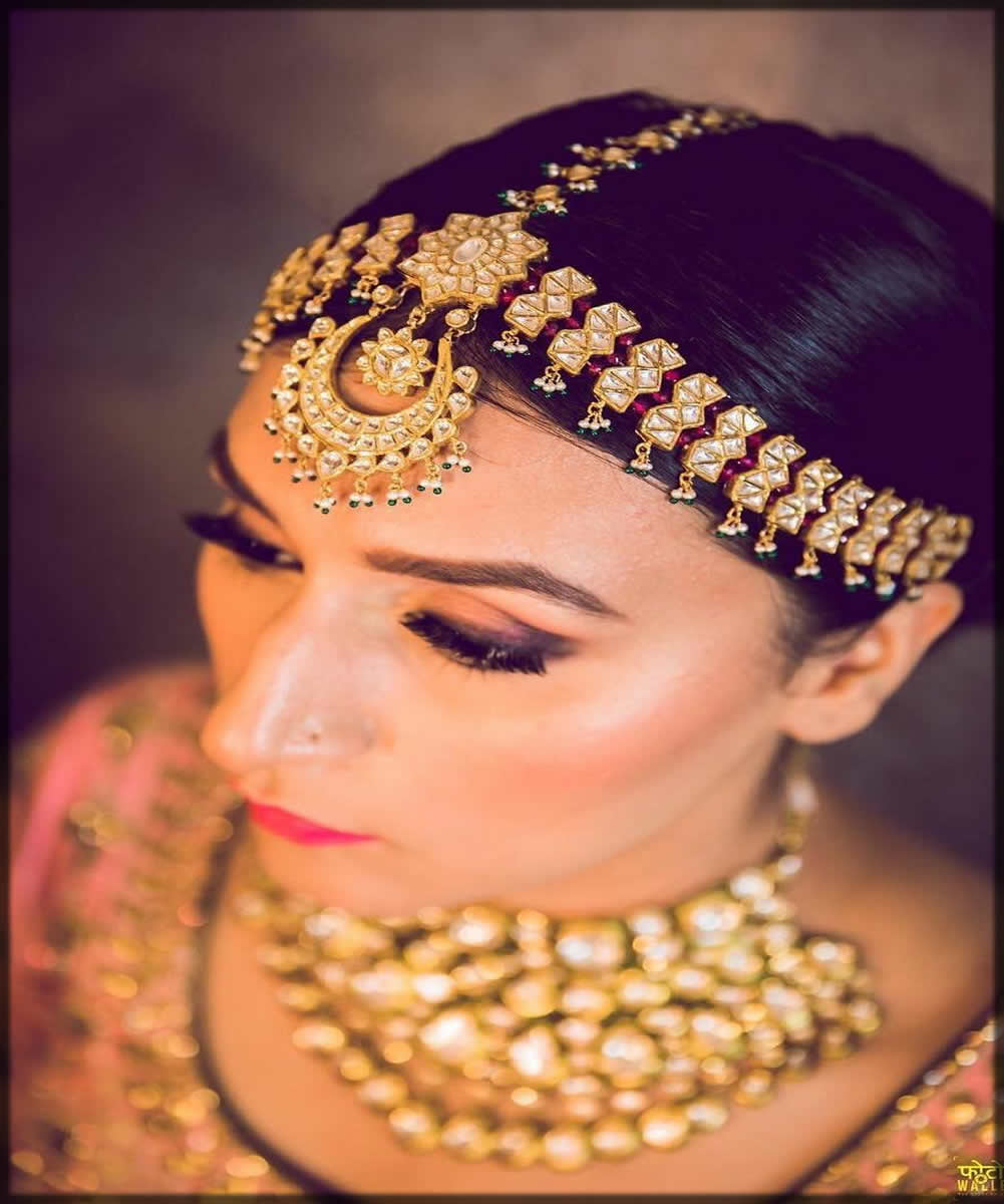 Latest Bridal Matha Patti Designs