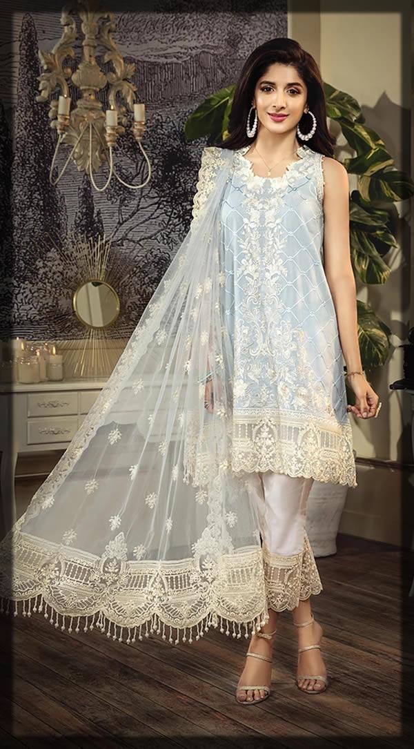 anaya lawn designer dress
