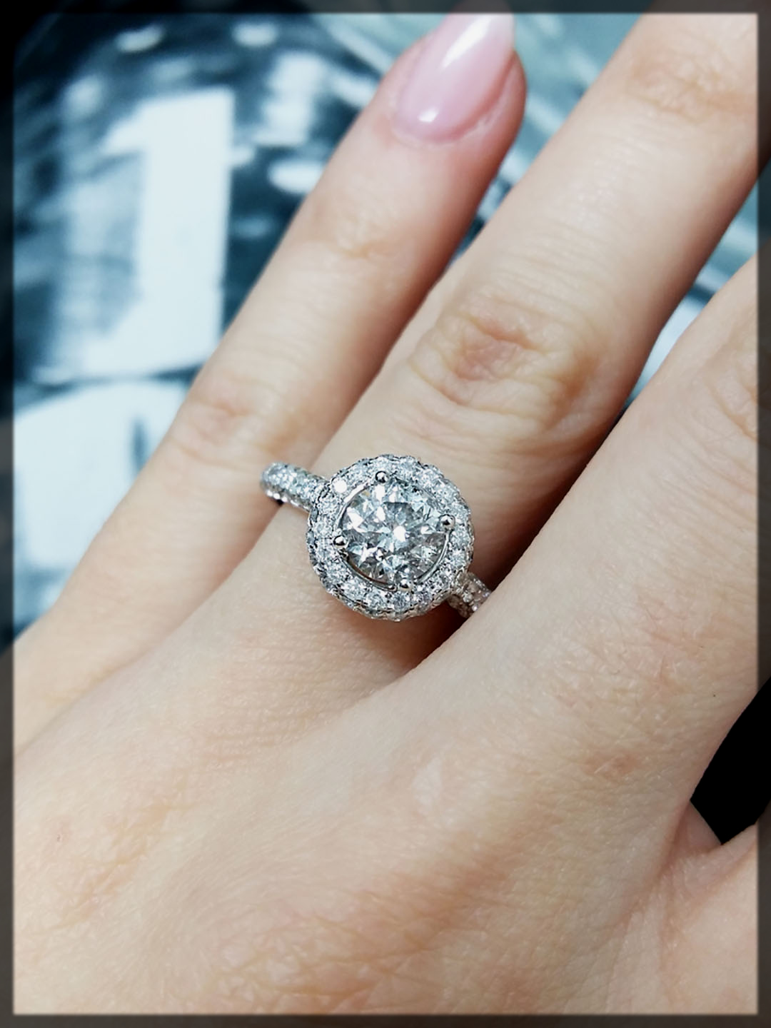 appealing Round Shape Rings