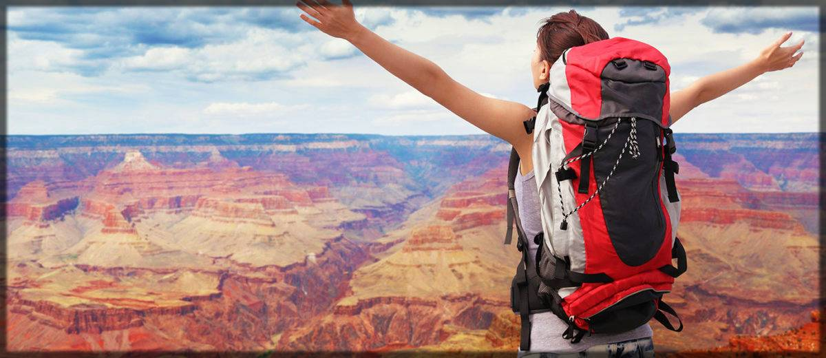 best backpack for traveling- women stock