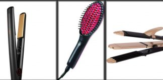 Best Hair Straighteners in Pakistan - Top Flat Irons and Straightening Brush