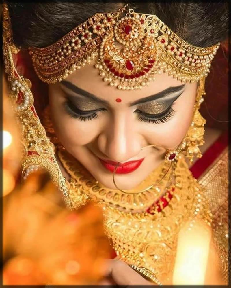 bridal matha patti