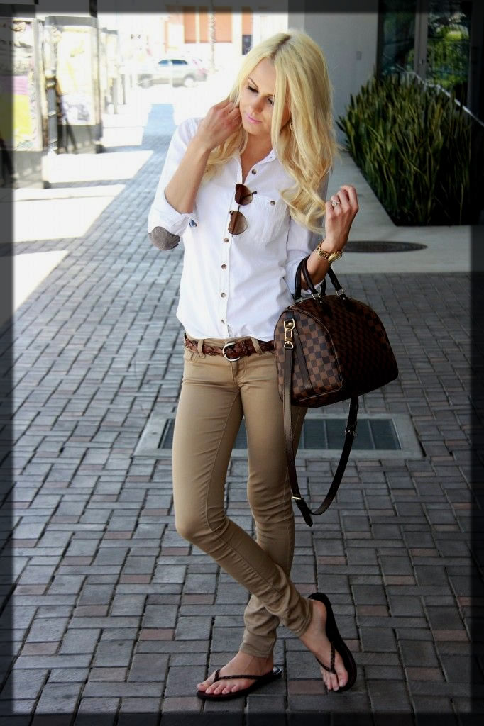 classy chinos for women