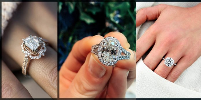 classy engagement ring for women