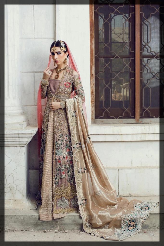 classy organza bridal dress