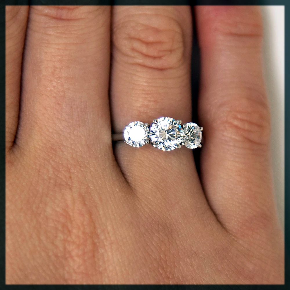 cool 3-Stone Rings