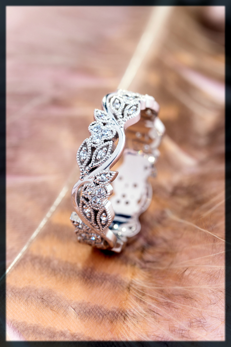 dazzling wedding ring for women