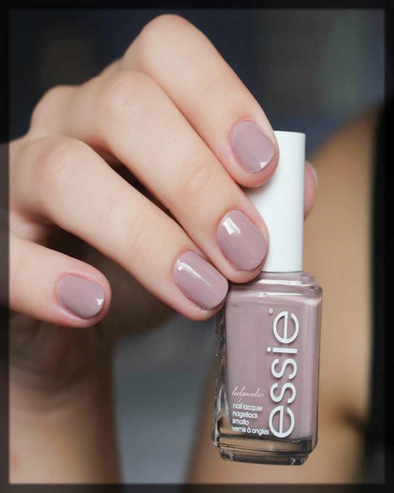 essie nude grey nail polish