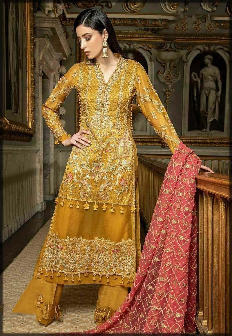 festive mustard dress
