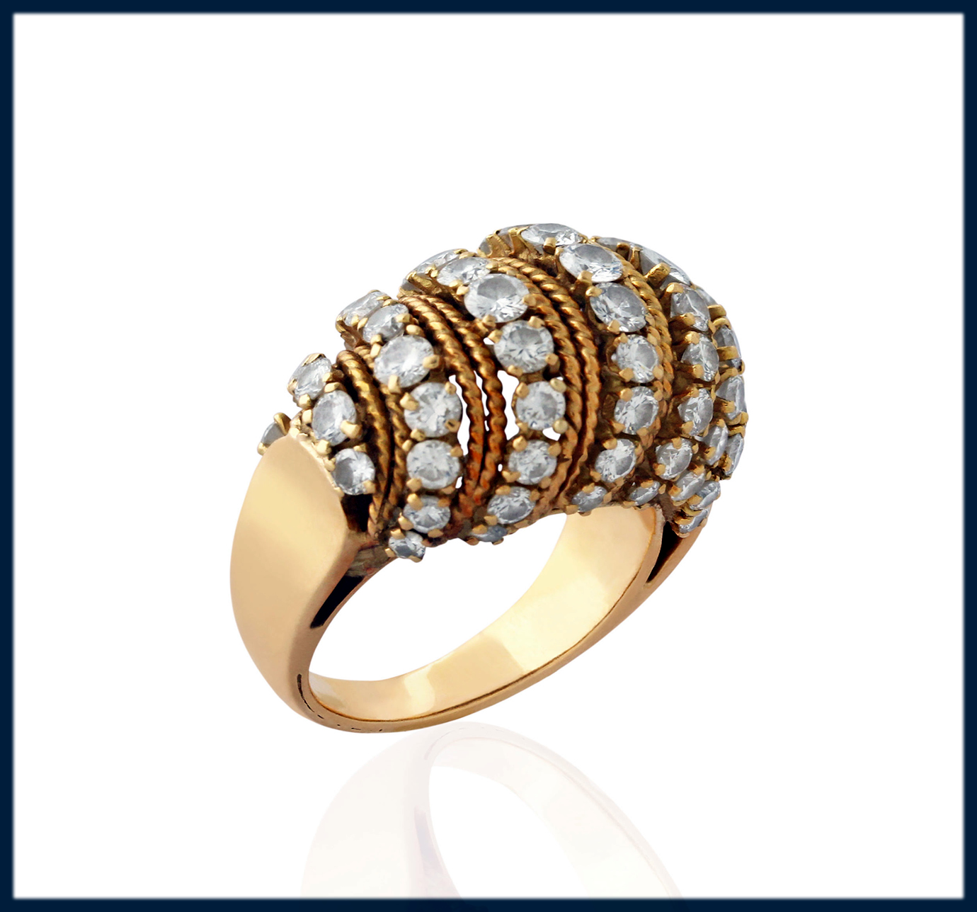 jazzier Bombe Ring For Women