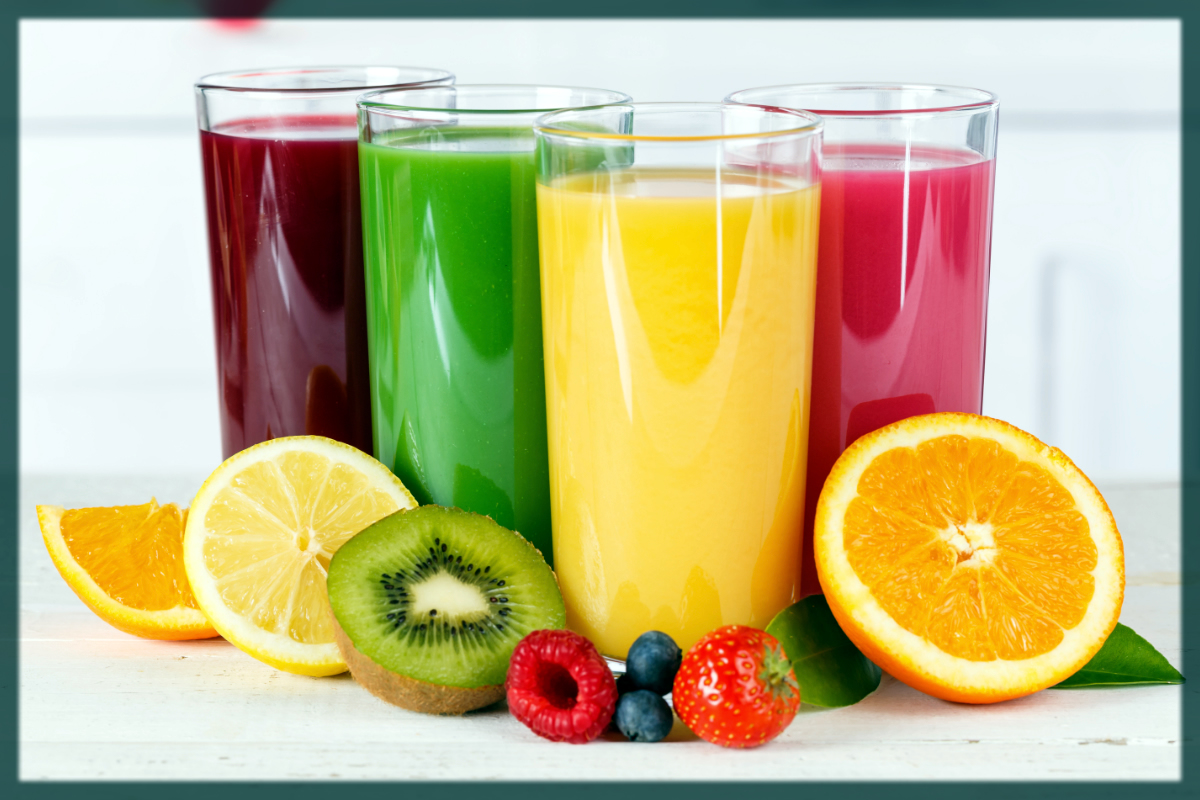 Fruit juices remove wrinkles