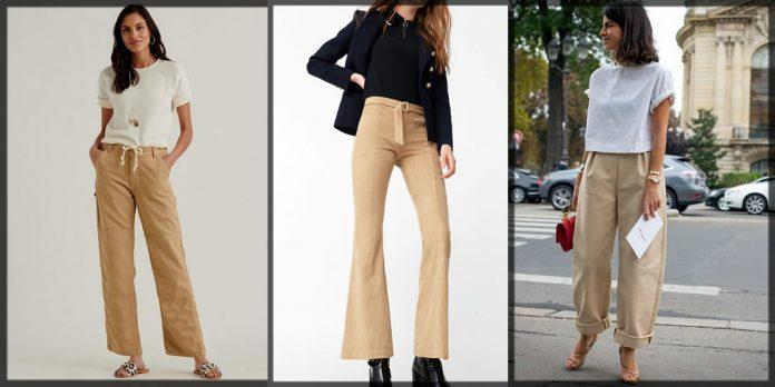 latest Khaki Pants For Women
