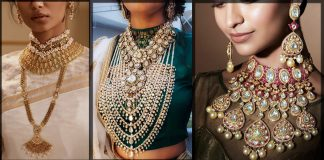 Latest Wedding Necklace Designs 2021 for Pakistani and Indian Brides
