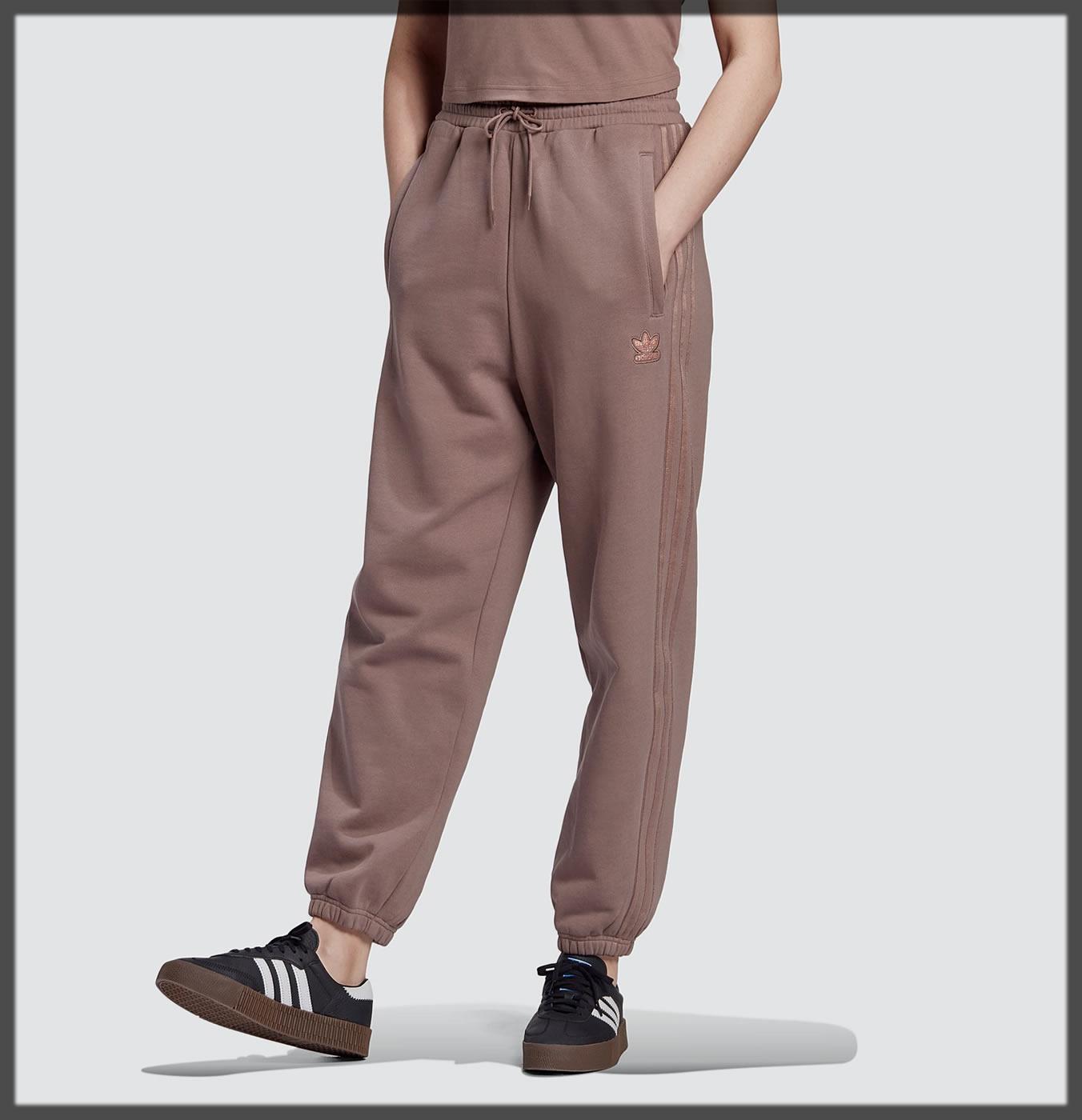 lavish Sweat Khaki Pants For Women