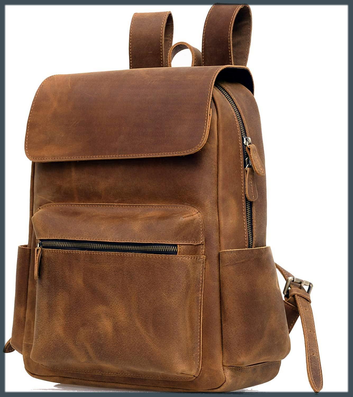 leather bagpacks