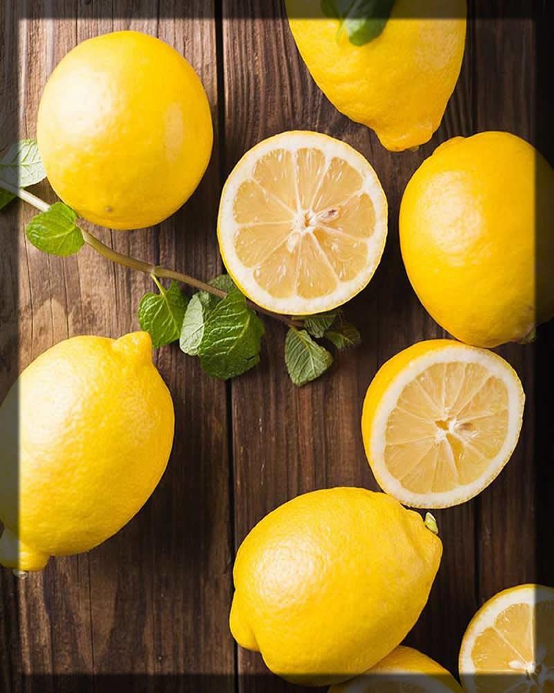 lemon juice for dark lips